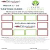 Taste Tehachapi Card -March 1-31 ,2021